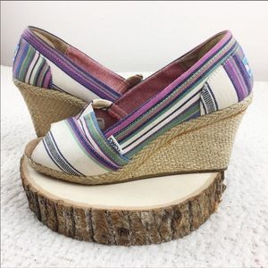 Toms Wedge Size 9 Womens Shoes